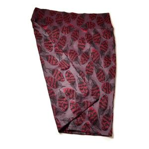 LuLaRoe Faded Maroon Cassie Skirt Size XL NWOT